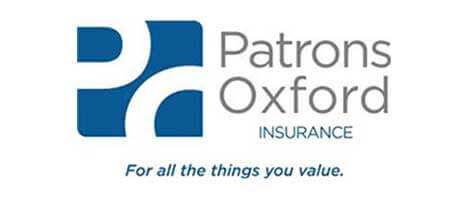 patrons insurance logo - top rated condominium insurance provider wells maine and portsmouth nh